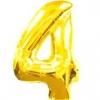 Цифра 4 золото 102 см