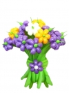 Букет из шаров 15 цветков