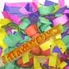 Хлопушка 100 см Разноцветное конфетти