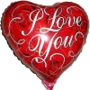 I Love You 18 дюймов