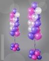 Фонтан из 15 шаров на стойке