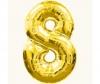 Цифра 8 золото 102 см